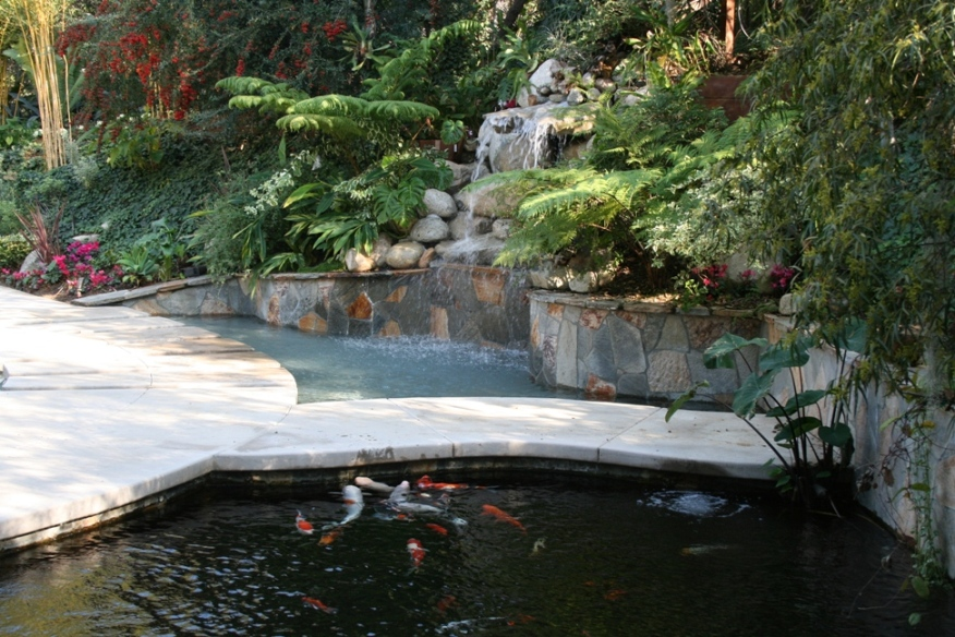 Jdc concrete gallery pool and spa for Landscape rock upland ca